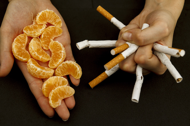 Food to stop smoking: 8 easy changes to help you quit smoking forever