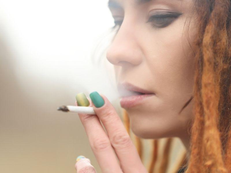 smoking affect skin