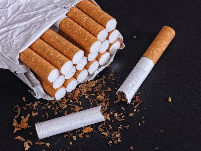 expired cigarette pack